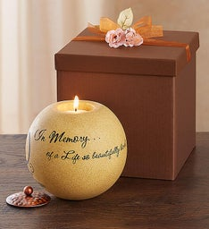 In Memory Of A Life So Beautifully Lived Candle