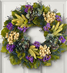 Preserved Jewel of Provence Wreath - 16