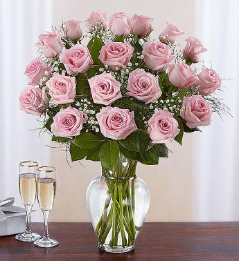 Rose Elegance Premium Long Stem Pink