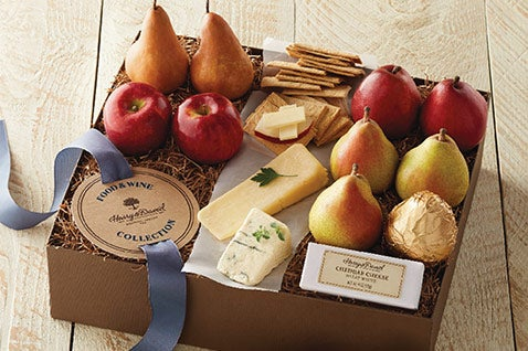 Food & Wine Fruit & Cheese Gift