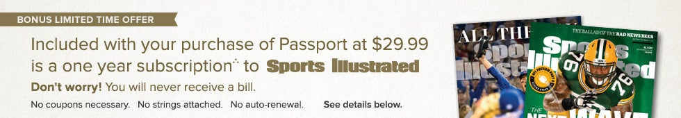 Passport - Sports Illustrated Promotion.