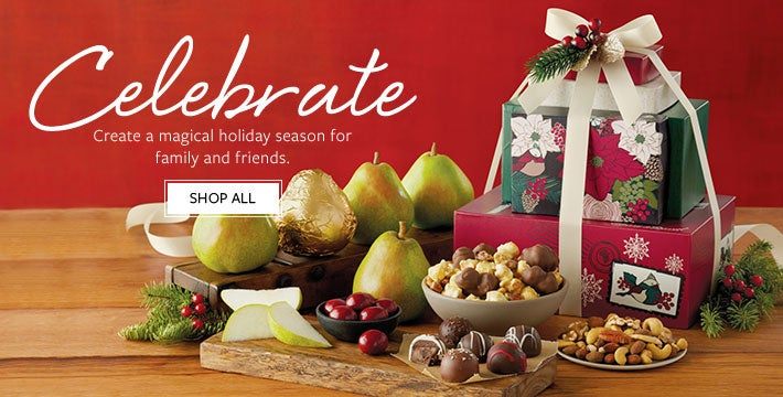 Celebrate. Create a magical holiday season for family and friends. Shop All.