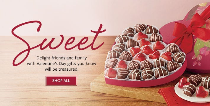 Sweet. Delight friends and family with Valentine's Day gifts you know will be treasured.  Shop All.