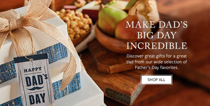 make Dad's big day INCREDIBLE. Discover great gifts for a great dad from our wide selection of Father's Day favorites. SHOP ALL