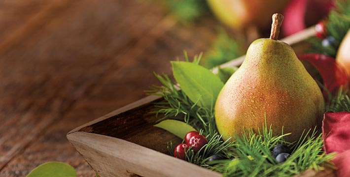 THE SWEETEST TRADITION OF THE SEASON. With every golden-wrapped pear and each extraordinarily juicy bite, our famous Royal Riviera® Pears have been a well-loved holiday tradition for decades. SHOP ALL