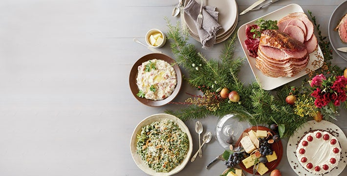 GATHER. 'Tis the season to come together over spectacular holiday meals. SHOP ALL