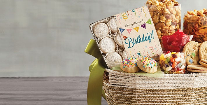 GIFTS FOR AN UNFORGETTABLE BIRTHDAY - Make birthdays extra special with sweet surprises and one-of-a-kind treats. SHOP ALL