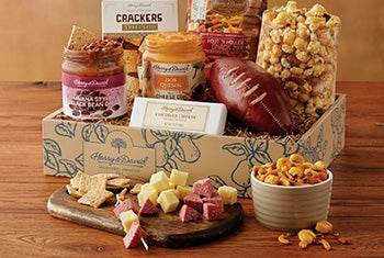 Gourmet gifts featuring Dad's favorites