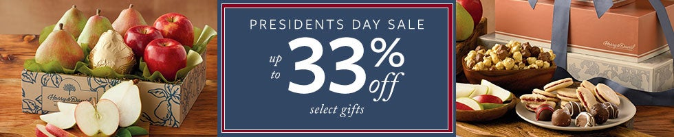 Presidents Day Sale. Up to 33% off Select Gifts.