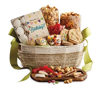 Gift Baskets: Fruit & Food Gift Basket