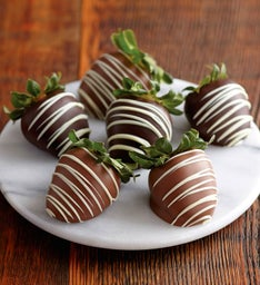 Berrylicious Chocolate-Covered Strawberries - 6 pieces