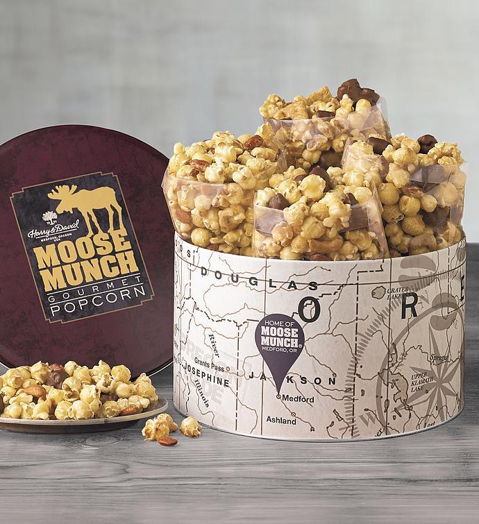Moose Munch Premium Popcorn Classic Tin