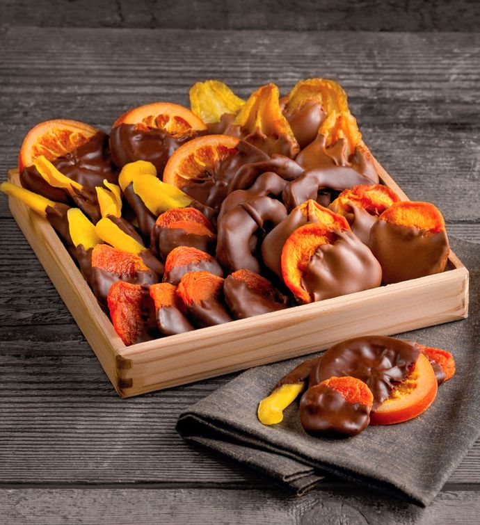 ChocolateDipped Dried Fruit