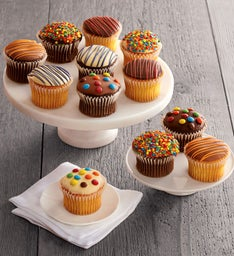 Celebrate ChocolateDipped Cupcakes