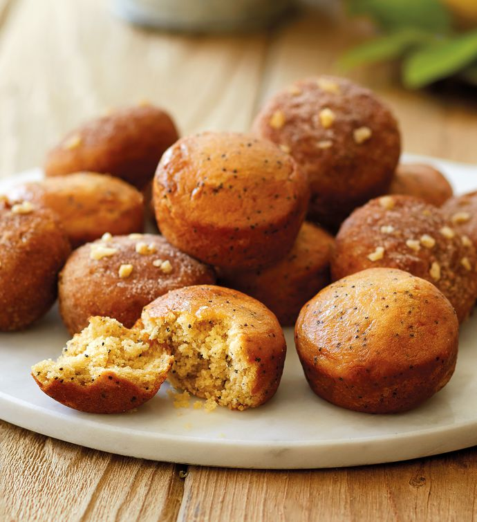 Gluten free muffins gluten free gifts harry david gluten free lemon poppyseed and cinnamon streusel muffin duo negle Gallery