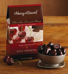 Dark Chocolate Bing Cherries (14 oz)
