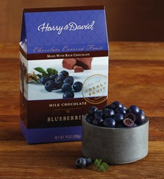 Milk Chocolate-Covered Blueberries