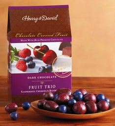 Dark Chocolate Fruit Trio