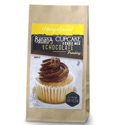 Banana with Chocolate Frosting Cupcake Mix (1 lb 2 oz)