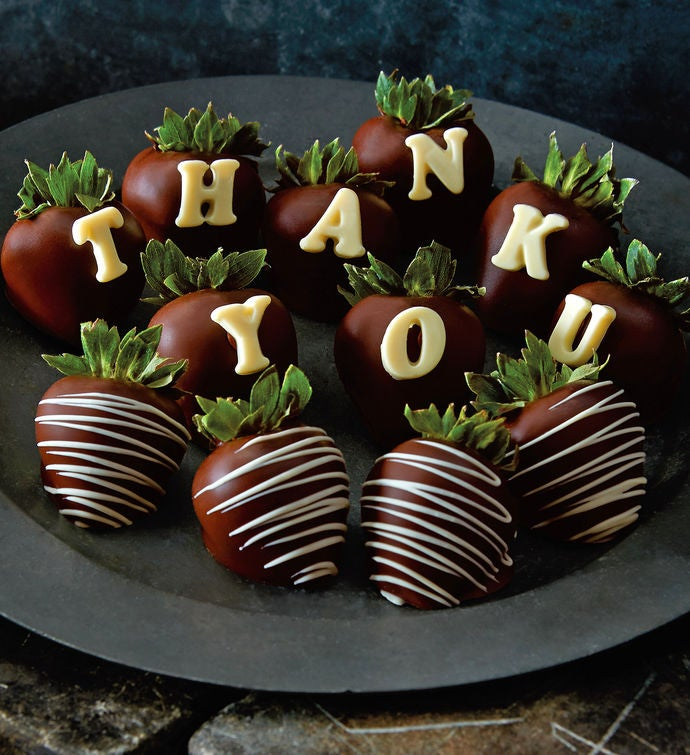 Thank You ChocolateCovered Strawberries