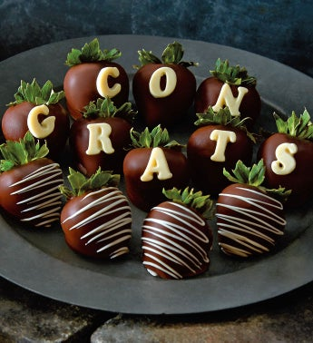 Congrats Chocolate Covered Strawberries by Harry & David