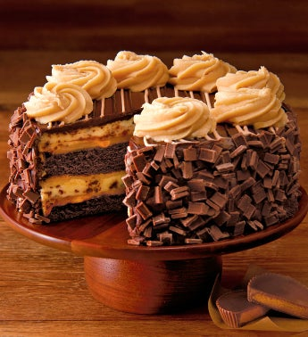 The Cheesecake Factory® REESE'S® Peanut Butter Chocolate Cake Cheesecake