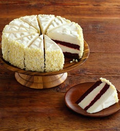 The Cheesecake Factory® Ultimate Red Velvet Cake Cheesecake™ - Restaurant Size