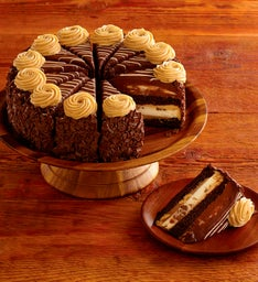 The Cheesecake Factory® REESE'S® PB Chocolate Cake Cheesecake - Restaurant Size