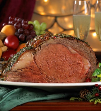 Stock Yards® Rib Eye Roast – Halved USDA Prime
