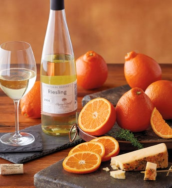HoneyBells Citrus Ginger Cheese and Harry  Davidtrade Riesling
