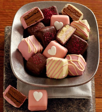 Valentine's Day Petits Fours