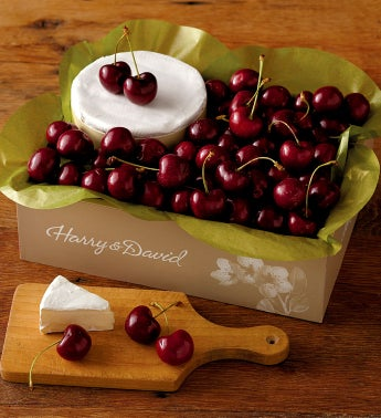 Cherry-Oh!® Cherries and Triple Crème Brie Cheese
