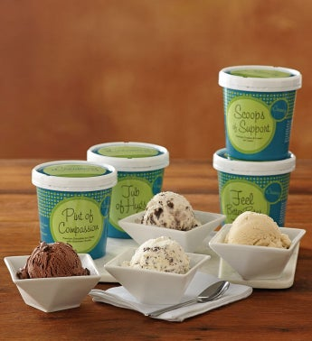 Sympathy Ice Cream Assortment