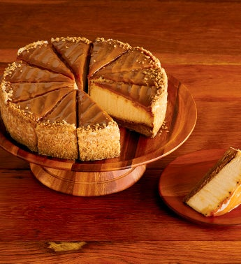The Cheesecake Factory® Salted Caramel Cheesecake - Restaurant Size