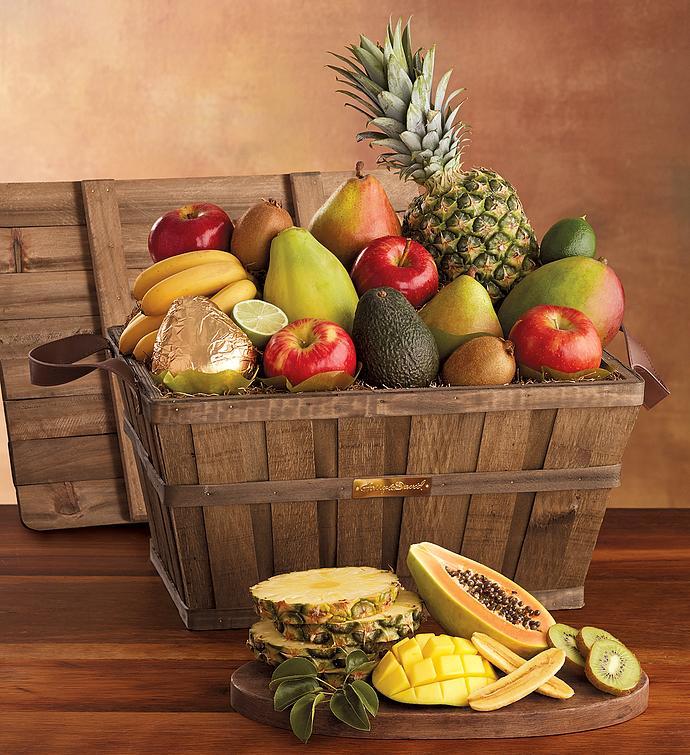 Deluxe fresh fruit basket gift baskets harry david deluxe fresh fruit basket negle Images