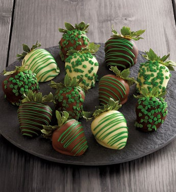St Patrick39s Day Chocolate-Covered Strawberries