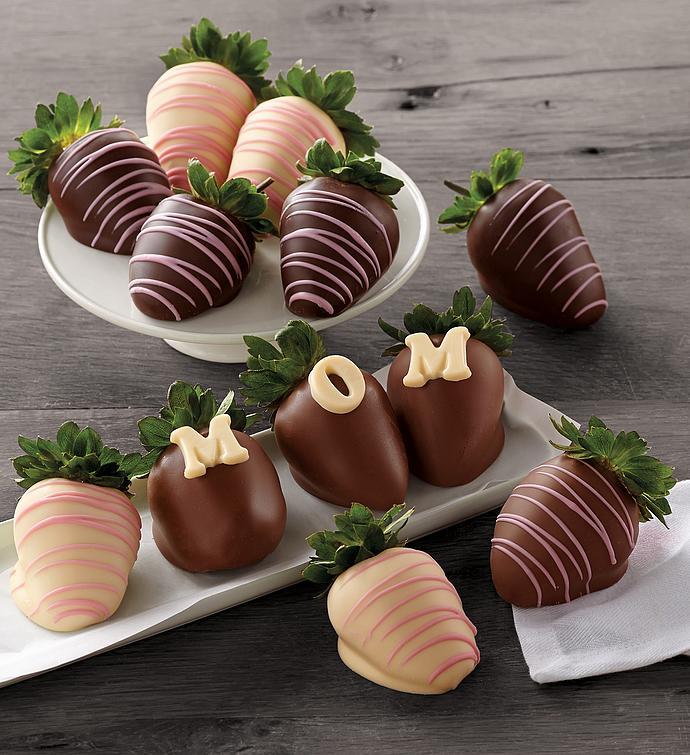 Mothers Day ChocolateCovered Strawberries  Dozen