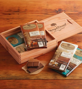 Chocolate Bar Keepsake Gift Box
