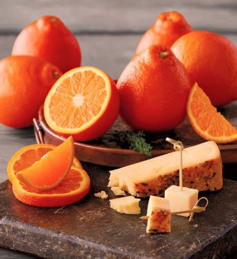 HoneyBells with Citrus Ginger Cheese