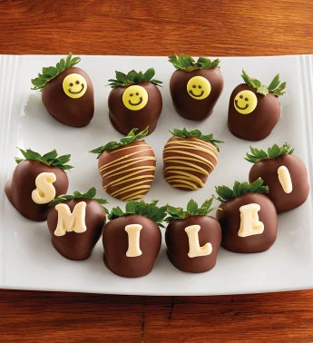 Smile! for Chocolate-Covered Strawberries