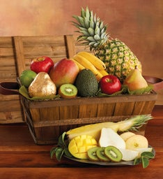 12-Month Medley Gift Basket Fruit-of-the-Month Club® Collection (Begins in February)