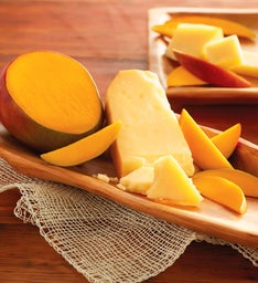 Mangoes and San Joaquin Gold Cheese