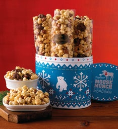 Mini Moose Munch® Gourmet Popcorn Tin