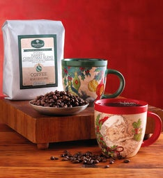 Holiday Coffee and Mug Gift Set