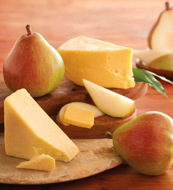 Royal Riviera® Pears and Gourmet Cheese Gift