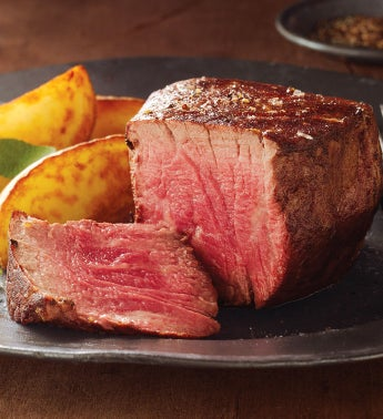 Stock Yards® Barrel Cut Filet Mignon – Four 6-Ounce Filets USDA Prime