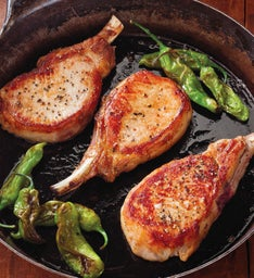 Stock Yards® Center-Cut Pork Chops - Eight 8-Ounce Chops