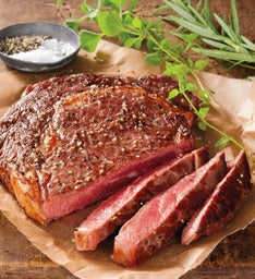 Stock Yards® Rib Eye Steaks Boneless – Two 8-Ounce USDA Prime