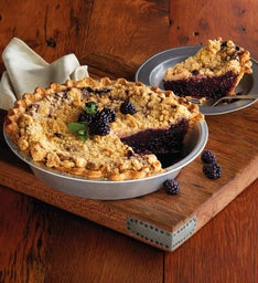 Sweet Lady Jane Deep Dish Berry Crumble Pie