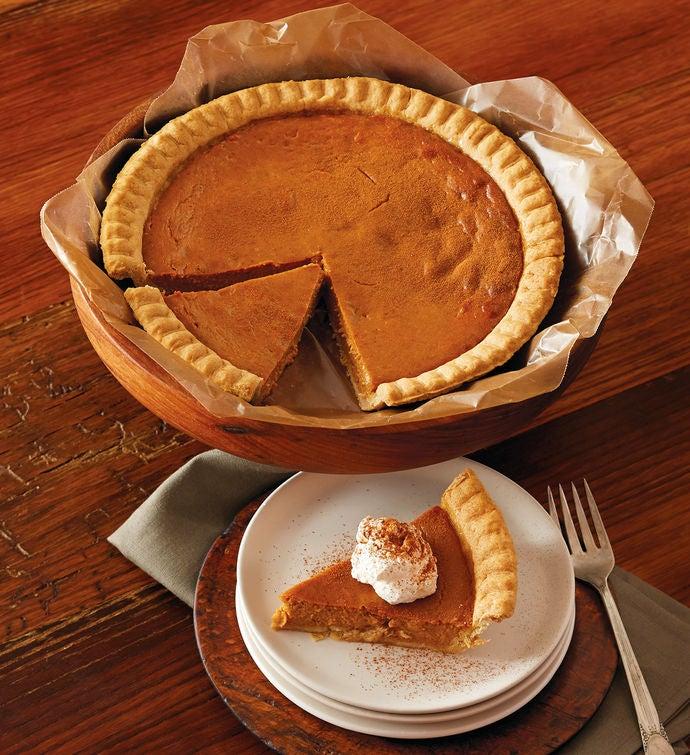 Gluten free pumpkin pie gluten free dessert delivery harry david gluten free pumpkin pie negle Choice Image